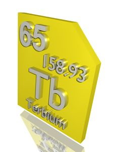 Free Terbium Royalty Free Stock Images - 10356949