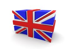 Free United Kingdom Flag Blocks Stock Photo - 10357110