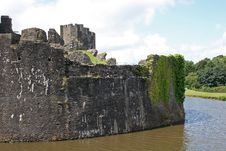 Caerphilly Castle Stock Images