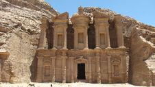Free Monastery Petra Stock Photography - 10357642