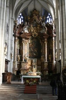 Free Austrian Cathedral Stock Images - 10358064