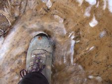 Free Muddy Boot Stock Images - 10359174