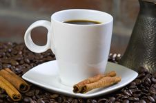 Free Coffe Cup Stock Image - 10359651