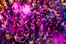 Free Colorful Croud Royalty Free Stock Photography - 103510817