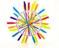 Free Color Wheel Royalty Free Stock Photos - 10361848