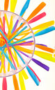 Free Color Wheel Royalty Free Stock Image - 10361856