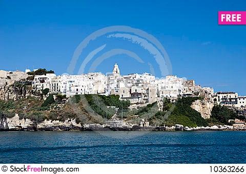 Free Vieste - Italy Royalty Free Stock Image - 10363266