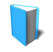 Free Blue Notebook Stock Images - 10360014