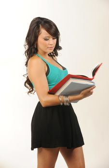 Free Beautiful Young Student Stock Images - 10360074
