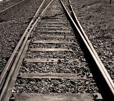 Free Railroad Tracks Stock Photo - 10360210