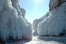 Free Baikal In The Winter Stock Photos - 10360323