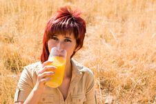 Free Latina Drinks Orange Juice Stock Photo - 10360750