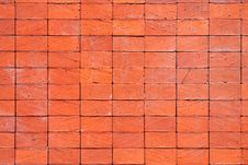 Free Red Brick Wall Texture Stock Photography - 10360982