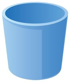 Free Wastepaper Basket - Empty Stock Photography - 10361182