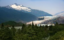 Free Mendenhall Glacier, Alaska Royalty Free Stock Photography - 10361217