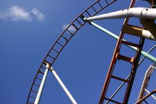 Free Roller Coaster Royalty Free Stock Photos - 10361228