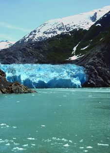 Free Sawyer Glacier, Alaska Stock Images - 10361534