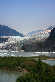 Free Mendenhall Glacier, Alaska Stock Images - 10361664
