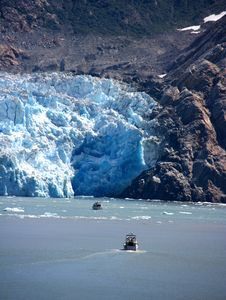 Free Sawyer Glacier, Alaska Royalty Free Stock Images - 10361799