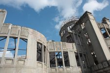 Free Hiroshima Atomic Bomb Dome Stock Photos - 10362053