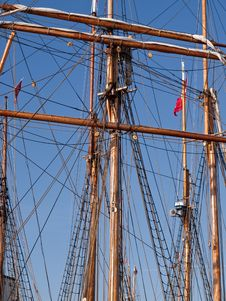 Traditional Sailing Royalty Free Stock Photos