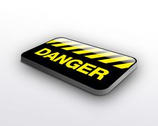 Free Danger Sign Stock Photo - 10362430