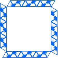 Free Blue Border/frame Royalty Free Stock Photo - 10362545