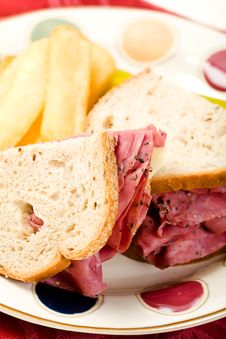 Free Pastrami  On Rye Stock Photos - 10362723