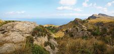 Free Panoramic Landscape On Majorca Stock Photography - 10363642