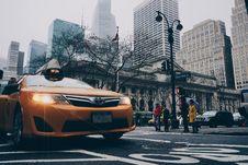 Free Yellow Toyota Sedan On In Highway Road Stock Photo - 103898370