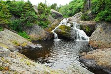 Free Scenic River And Waterfall Stock Image - 10398251
