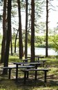 Free Table In The Park Stock Photos - 1040333