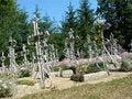 Free Crosses In Churchyard Stock Image - 1046671