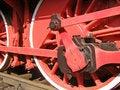 Free Old Locomotive Wheels Stock Image - 1048241