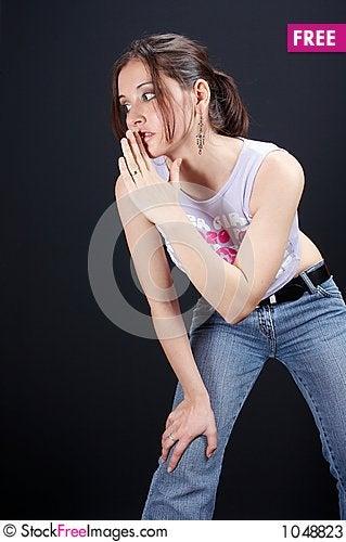 Free Girl Move Stock Photos - 1048823