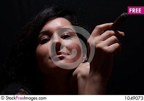Free Girl Smoking Stock Photos - 1049073