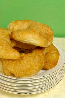 Free Croissants Stock Photography - 1040612