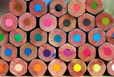 Free Varicoloured Pencils Stock Photography - 1041112