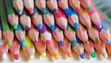 Free Colored Pencils Royalty Free Stock Photography - 1041117