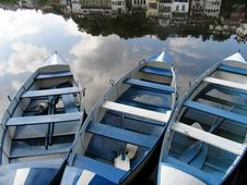 Free Three Boats Royalty Free Stock Images - 1041529