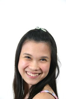 Natural Young Asian Girl 8 Royalty Free Stock Photography