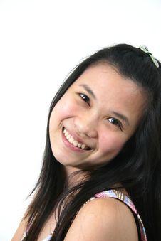 Natural Young Asian Girl 9 Stock Photography