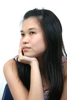 Natural Young Asian Girl 15 Royalty Free Stock Photo