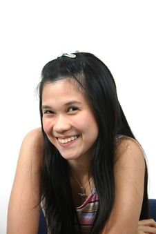 Natural Young Asian Girl 16 Stock Photography