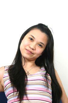 Natural Young Asian Girl 20 Royalty Free Stock Photography