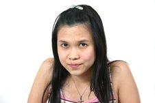 Natural Young Asian Girl 18 Stock Images
