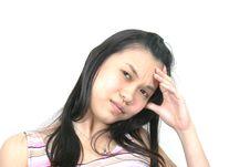 Natural Young Asian Girl 18 Royalty Free Stock Photography