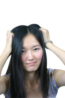 Free Young Asian Girl 07 Royalty Free Stock Images - 1041949