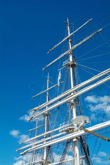 Free Rig Of Tall Ship Royalty Free Stock Photos - 1042178