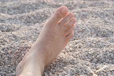 Vocationer Foot Stock Image